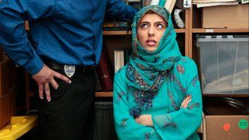 Shoplyfting arab girl Audrey Royal