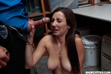 Jade Amber encounters huge cock