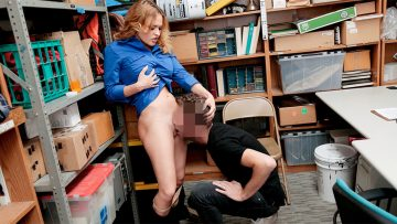 Female LP officer Krissy Lynn shoplifter