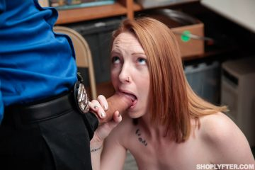 Katy Kiss takes a huge cock in her mouth