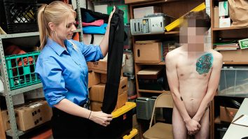 LP officer Rachael Cavalli catches shoplyfter