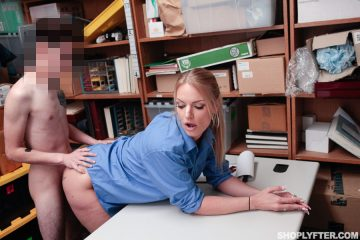 LP rachael cavally fucked by shoplyfter in office