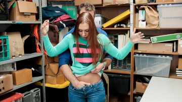 Ornella Morgan shoplyfter