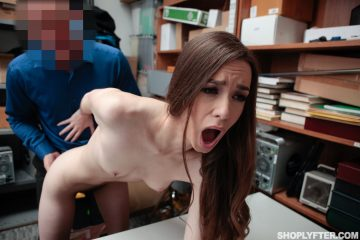 Sexy brunette Tali Dova takes big dick doggy style
