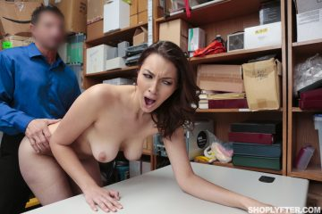 Naked Bella Rolland fucked by LP Officer