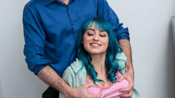 Girls with blue hair always hide something Jewelz Blu